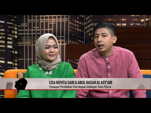 VIRAL, Undangan Pernikahan Dengan Tema Pilpres | HITAM PUTIH (18/04/19) Part 1