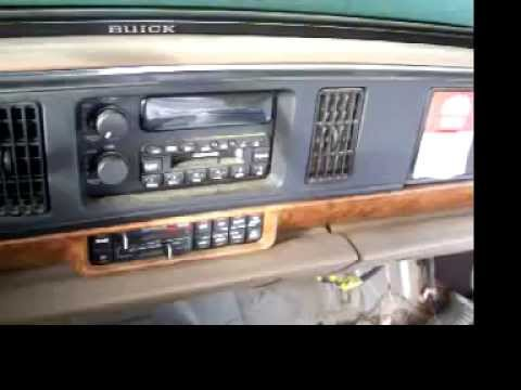 How to remove a radio from a 95 buick lesabre part 1 - YouTube