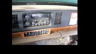 How to remove a radio from a 95 buick lesabre part 1
