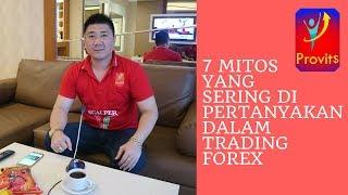 7 Mitos Yang Sering Dipertanyakan Dalam Trading Forex