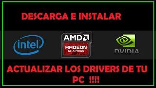 Como Instalar y Actualizar Los Drivers del PC | Windows 7,8, 10 | 2017