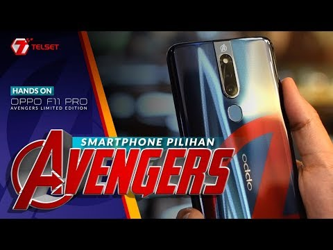 Oppo F11 Pro Avengers Limited Edition Unboxing Hands On Youtube