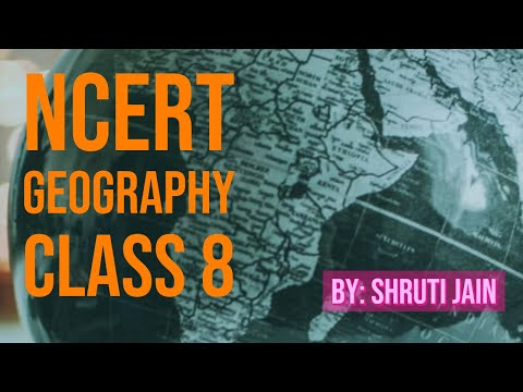 Class 8: Geography (Chapter 1: Resources)