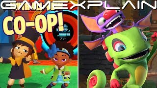 Yooka-Laylee and the Impossible Lair & A Hat in Time Coming to Switch in Oct (+ New Co-Op Mode)