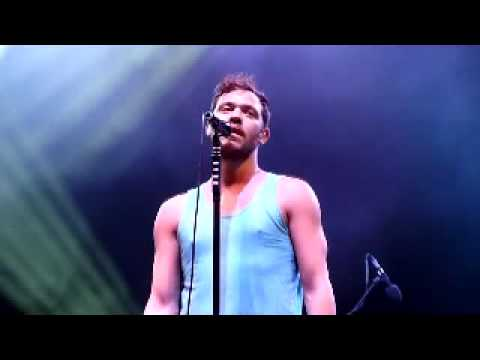 Will Young Tell Me The Worst at V Festival