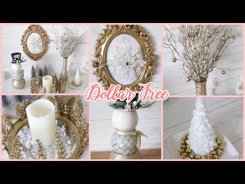 Dollar Tree DIY Glam Christmas Decor