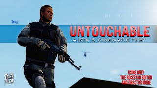 UNTOUCHABLE - PC Editor Cinematic (GTA5 short film test)