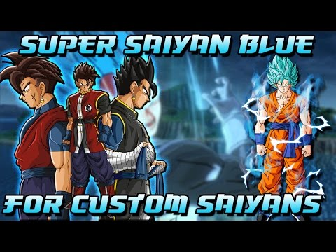 Ways Super Saiyan Blue can work for custom saiyans in Xenoverse 2