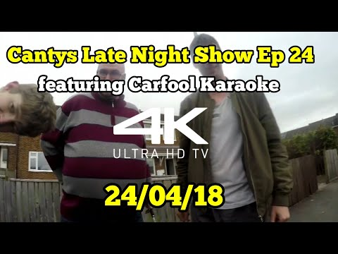 Cantys Late Night Show Ep 24 featuring Carfool Karaoke
