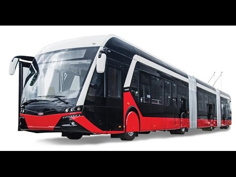 ELECTRIC BUS TRAMBUS MANUFACTURED BY TURKEY