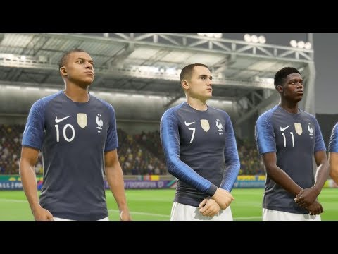 France vs Cameroun FIFA 19 Difficulté Ultime Gameplay PC