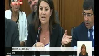 Emília Cerqueira questiona Ministro da Agricultura