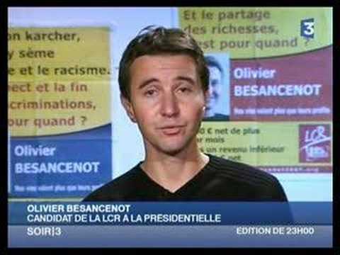 Olivier Besancenot chez les Reynolds