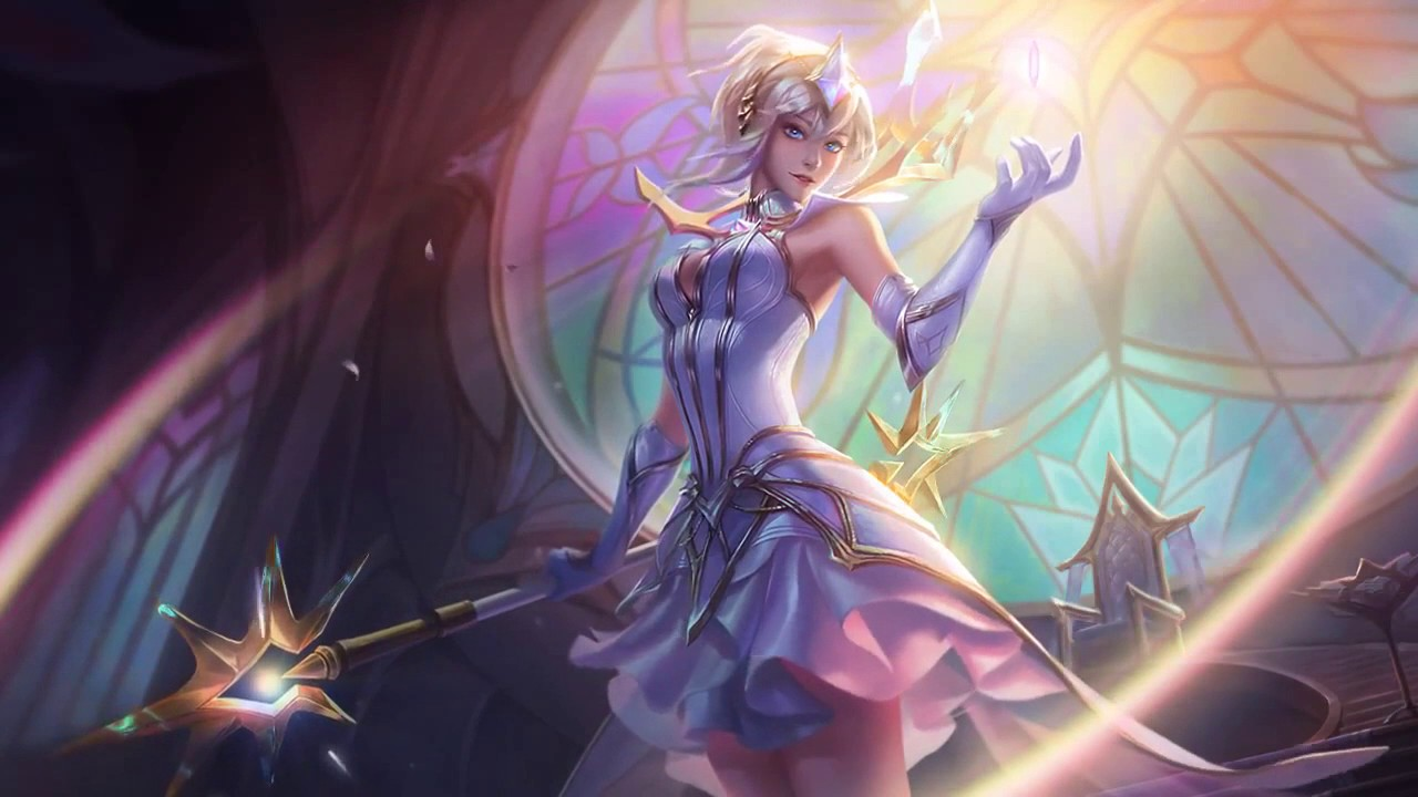 Elementalist Lux Animated Splash Art Login Music Not Login