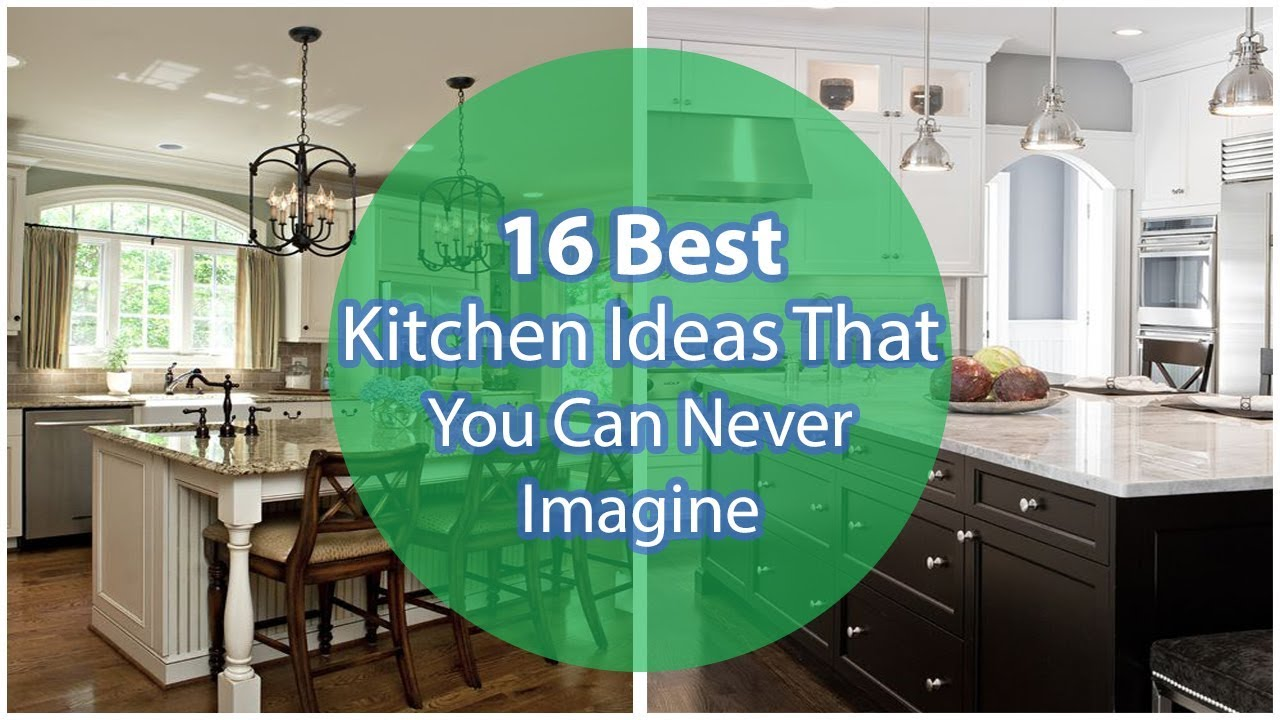 Best 16 Kitchen Ideas that You Can Never Imagine - YouTube