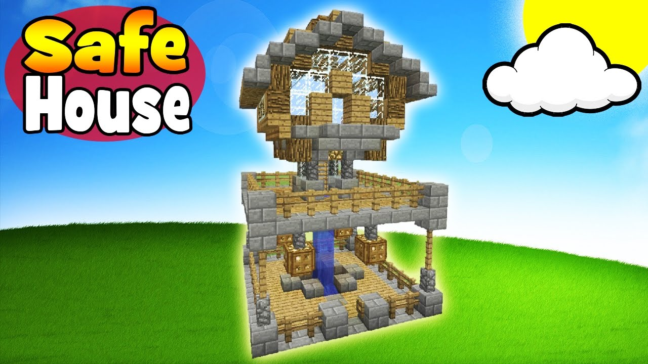 Minecraft Tutorial: How To Make A Survival Safe House