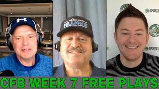 College Football Week 7 Betting Previews and Picks | MSU vs Indiana | Purdue vs Iowa | ASU vs Utah