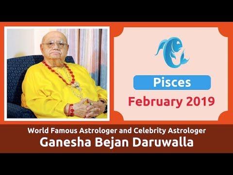 PISCES FEBRUARY 2019 ASTROLOGY HOROSCOPE FORECAST BY ASTROLOGER GANESHA  BEJAN DARUWALLA