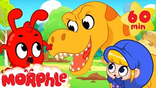 T-Rex Chase - Mila And Morphle Dinosaurs   Cartoons For Kids   Morphle TV