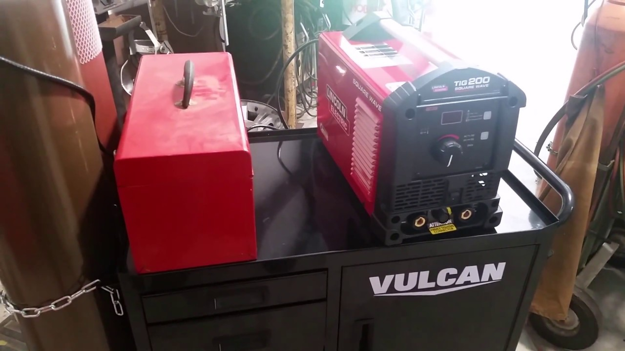 Review On Harbor Freight S Vulcan Heavy Duty Welding Cart