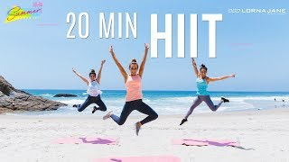 20 Min HIIT The Beach Workout | Summer Shape Up '17