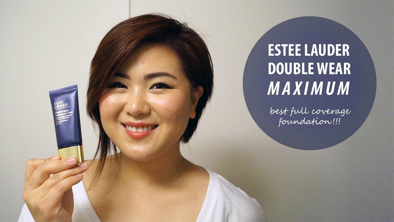 estee lauder double wear maximum cover 1n3 creamy vanilla. Black Bedroom Furniture Sets. Home Design Ideas