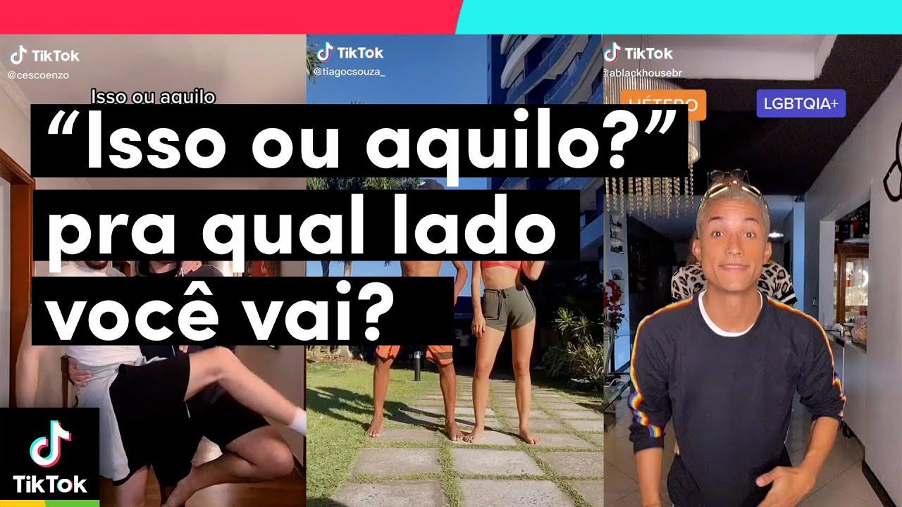 Você tem o direito de escolher apenas um lado... pra qual iria?  | TikTok Brasil