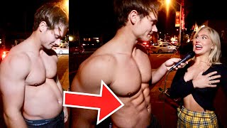 Getting Abs Mid Conversation! | Connor Murphy