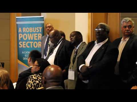 Malawi Investment Forum Mining & Energy Dean Lungu, Cassius Chiwambo and James Chatupa