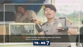 TARIAN TAHU BULAT ALA POLISI MENJADI VIRAL