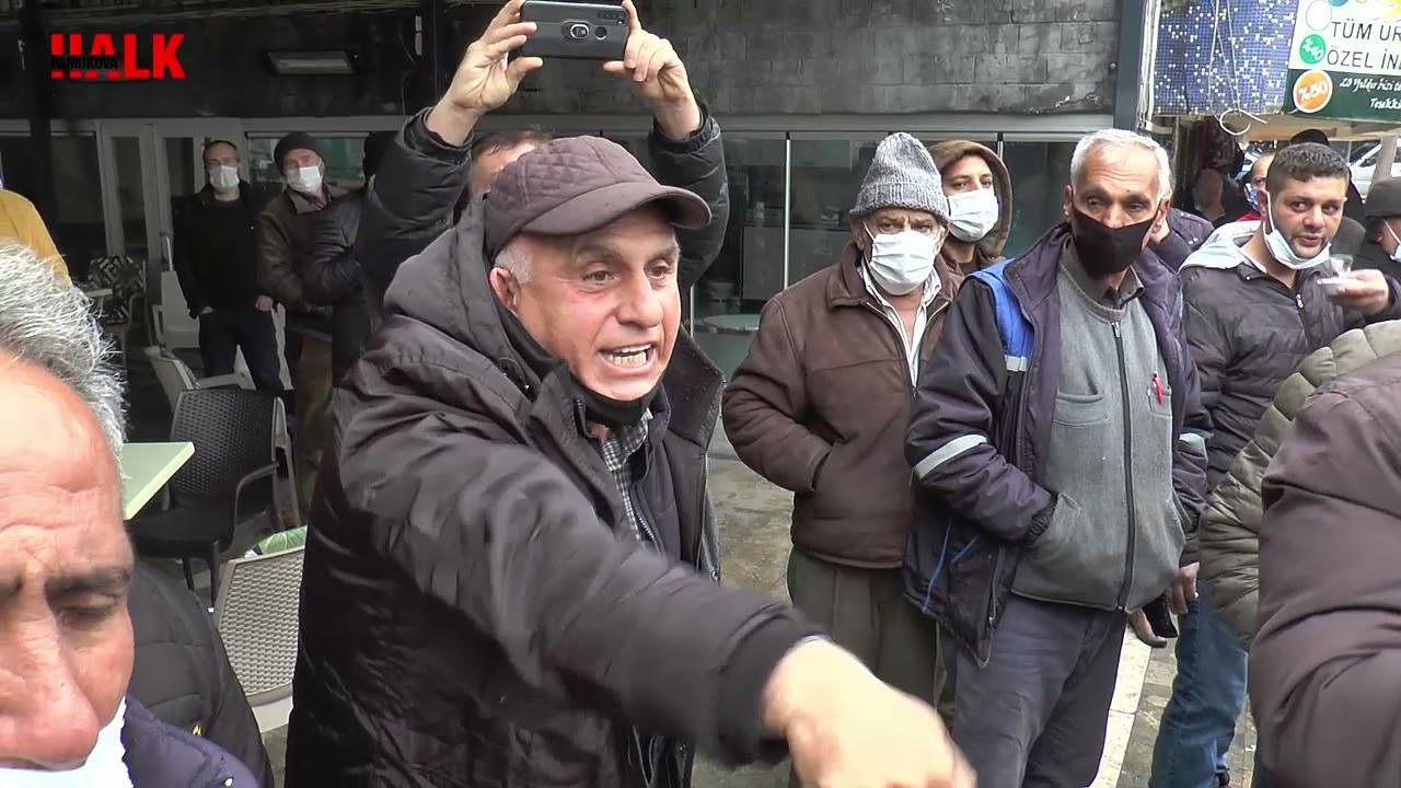 Download Pamukova Belediyesi önünde gergin anlar Belediye Başkanı Buraya gelsin