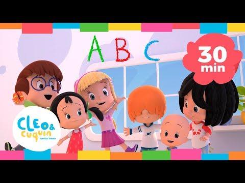 COLECCIÓN ABC   ABECEDARIO. Cleo & Cuquin   Familia Telerín. Canciones infantiles para niños