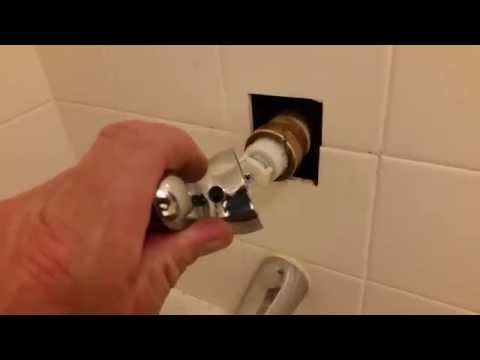 Delta shower valve handle removal / bonnet nut stuck