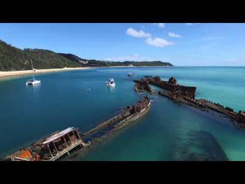 Shipwrecks of Moreton Island, Australia