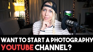 Tips to start a PHOTOGRAPHY YouTube channel (Build an audience & create passive income)
