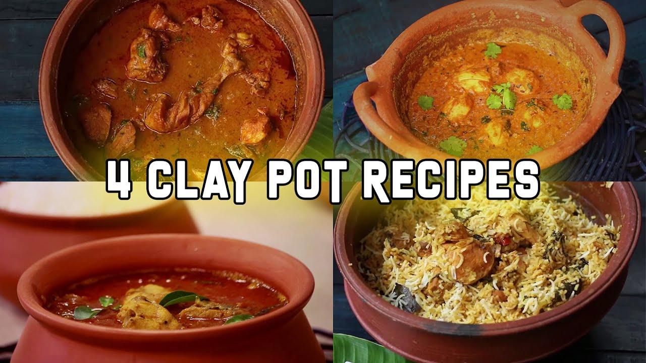 clay pot cooking videos 2 Clay pot Recipes  2 Recipes in clay Pot  Clay Pot Cooking