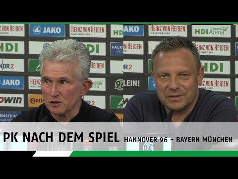 PK nach dem Spiel | Hannover 96 - FC Bayern München