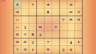 evil sudoku demonstration
