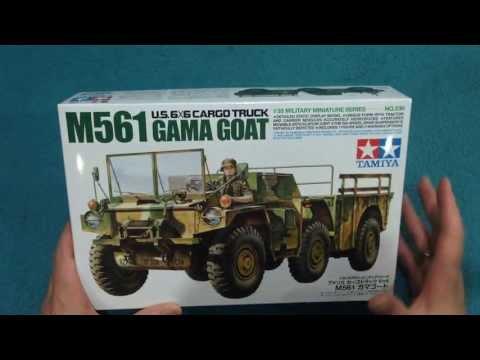 Tamiya M561 Gama Goat In-Box Review