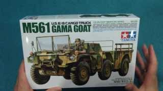 Tamiya M561 Gama Goat In-Box Review