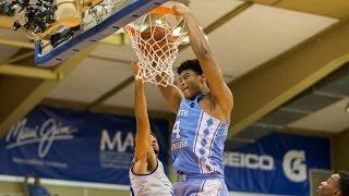 UNC Men's Basketball: Carolina Tops Chaminade 104-61 to Open Maui Invitational