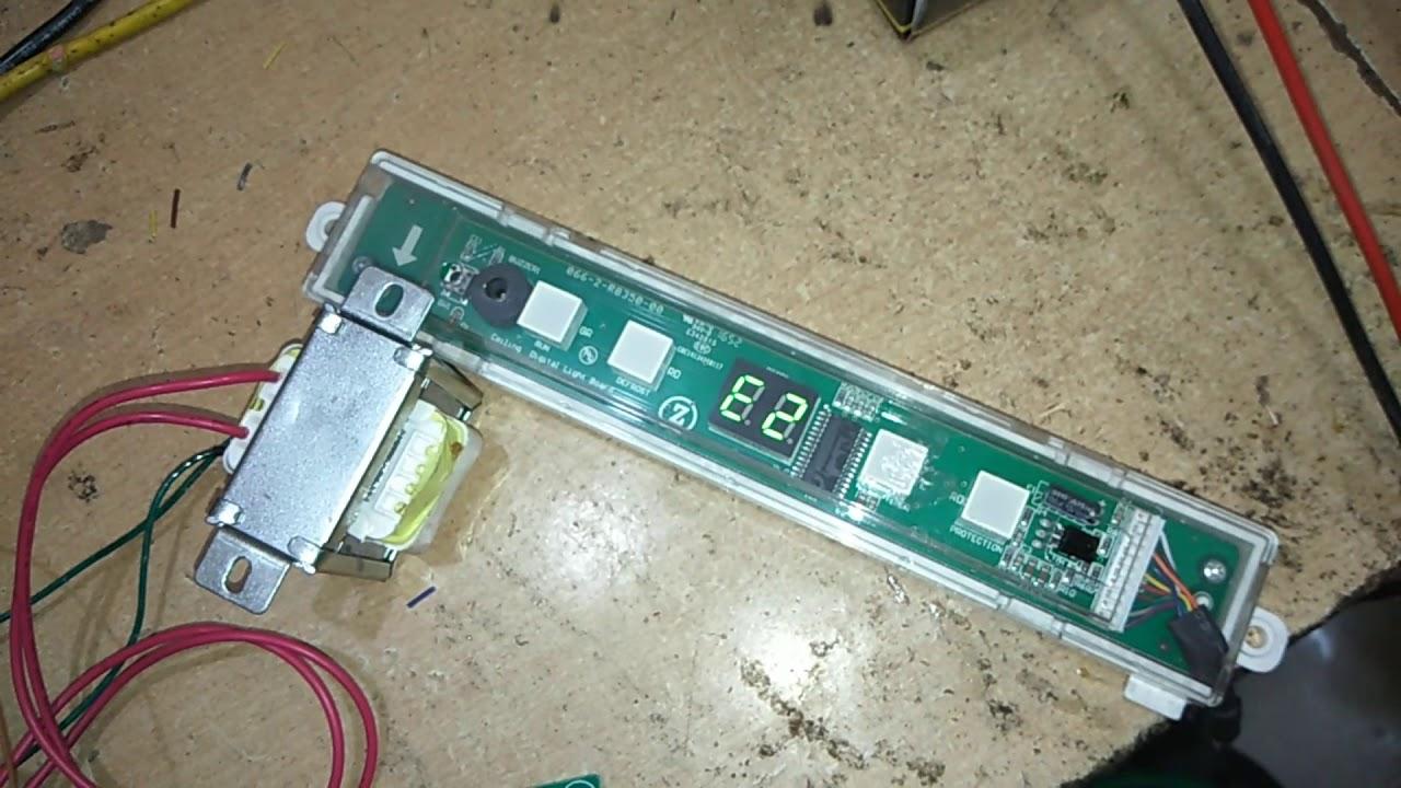 Voltas cassette AC error code and PCB checking