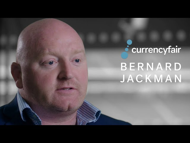 CurrencyFair with Bernard Jackman