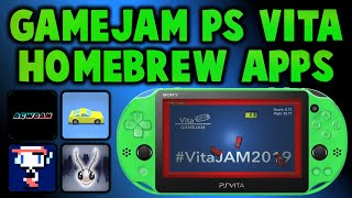 NEW! PS Vita Homebrew Apps! GameJam Competition!