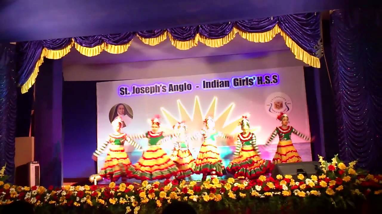 Stjosephs Anglo Indian Girls Hss Celebration5mp4 Youtube
