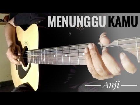 Menunggu Kamu - Anji (Acoustic Guitar Instrumental) Cover by The Superheru