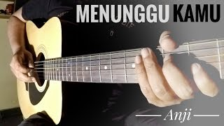 Menunggu Kamu - Anji (Acoustic Guitar Instrumental) Cover by The Superheru