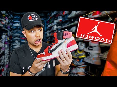 Shopping At The Fake Jordan Store In The Philippines - Shoe Vlog