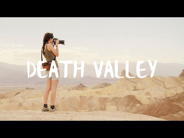 Death Valley - Surreal landscape in nobody's land
