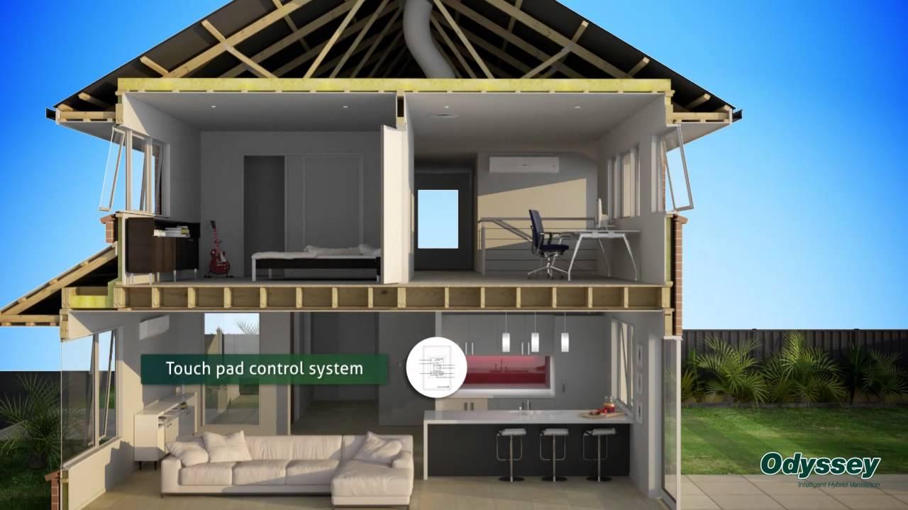 Hybrid Ventilation System : Odyssey intelligent hybrid ventilation youtube